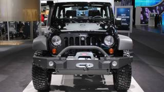 9. 2011 Jeep Wrangler Call of Duty Black Ops Edition (2011 NAIAS)
