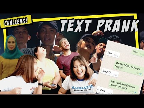 Video TEXT PRANK NYOKAP PAKE LAGU BAD - YOUNG LEX feat. AWKARIN (GONE KOCYAG!) download in MP3, 3GP, MP4, WEBM, AVI, FLV January 2017