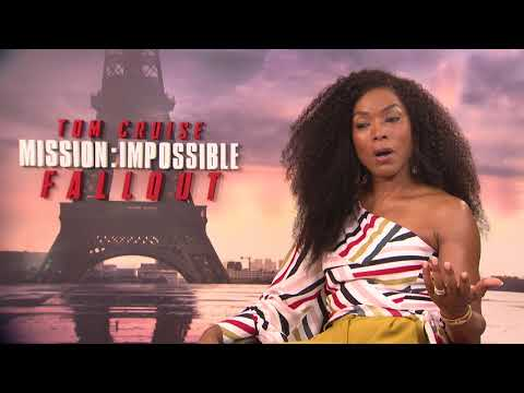 Mission: Impossible - Fallout Angela Bassett Paris Junket Interview || SocialNews.XYZ