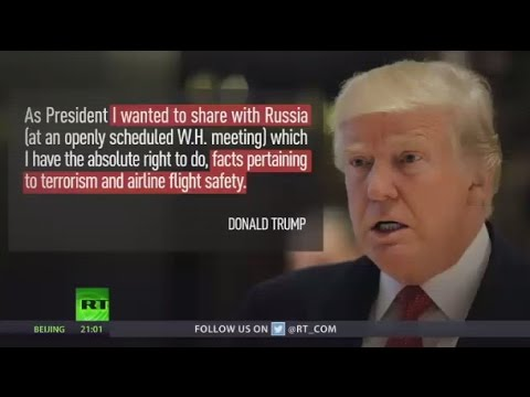 'I have the absolute right': Trump defends sharing data on flight safety & terrorism with Russia