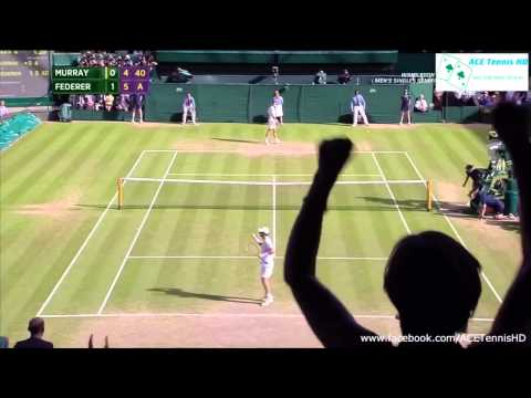 wimbledon 2015: roger federer vs andy murray - highlights