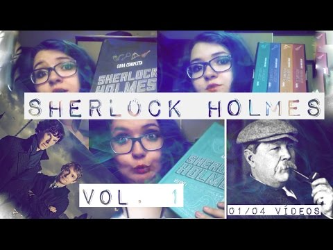 RESENHA | Box Sherlock Holmes Vol. 1 | BISCOITO ESPERTO