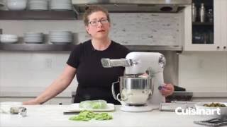 Precision Master™ Stand Mixer Pasta Roller and Cutter Attachment Commercial Video Icon