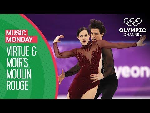Tessa Virtue and Scott Moir's Moulin Rouge at PyeongChang 2018 | Music Mondays (видео)