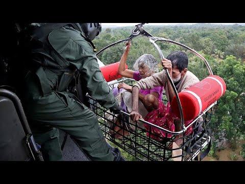 Indien: Opferzahl bei Fluten in Südindien steigt auf  ...