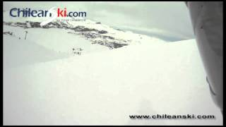 La Copa ski trail video, El Colorado Chile