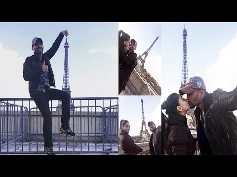 Jay Bhanushali & Mahi Vij HOLIDAYING In Paris & Am