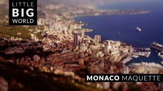 Monaco Maquette (Time Lapse - Tilt Shift - 4k)