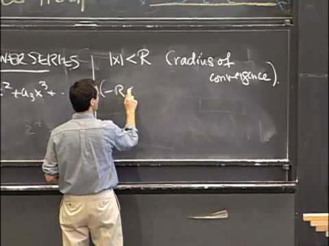 Lec 38 | MIT 18.01 Single Variable Calculus, Fall 2007