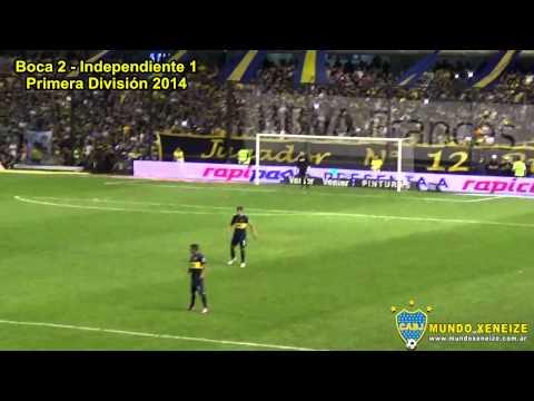 Fecha 17: Boca 3 vs Independiente 1