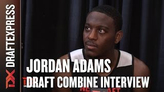 Jordan Adams Draft Combine Interview