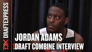 Jordan Adams Draft Combine Interview