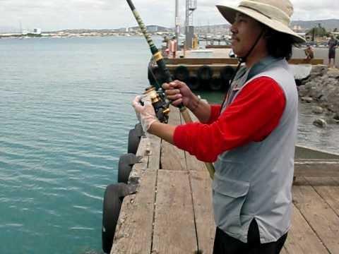 Sand Island Boys 12 Lb Ulua on 8 Lb test line