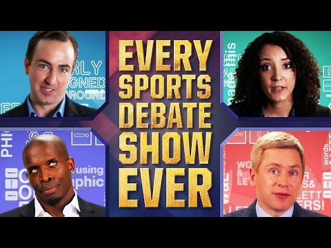 Here's Every Sports Debate Show Ever In One Great Parody