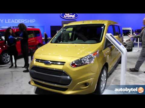 2014 Ford Transit Connect Wagon At The LA Auto Show