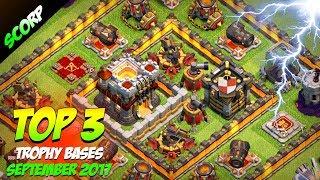Video TOP 3 Th11 Trophy Bases | Th11 War Bases | Best CoC Th11 base 2017 | Town hall 11 Hybrid Bases MP3, 3GP, MP4, WEBM, AVI, FLV Oktober 2017