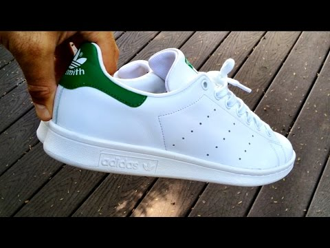 Adidas Originals - Stan Smith White/Green - ON FEET + Fit - Eddie Win