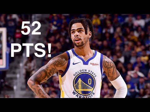 Rapid Highlights of D'Angelo Russell Scoring 52 Points vs. MIN T-Wolves! 11.09.2019