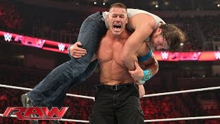 John Cena vs Dean Ambrose – United States Championship Match: Raw, March 30, 2015