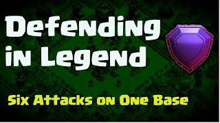 Legend Attacks on Billius base