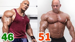Video The Rock vs Vin Diesel Transformation ★ 2018 MP3, 3GP, MP4, WEBM, AVI, FLV November 2018