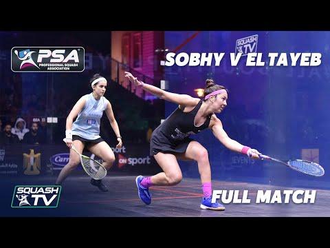 PSA Rewind - Sobhy v El Tayeb - Full Squash Match - El Gouna 2019 Quarter Final