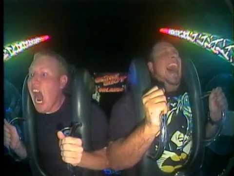 Screaming Marine On Sling Shot – So Funny