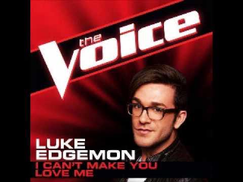 Luke Edgemon - I Can't Make You Love Me [The Voice 2013] (видео)