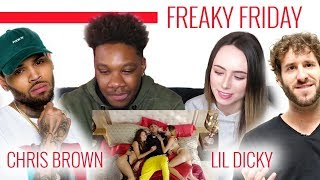 Video Lil Dicky - Freaky Friday feat. Chris Brown (Official Music Video) | Reaction download in MP3, 3GP, MP4, WEBM, AVI, FLV January 2017