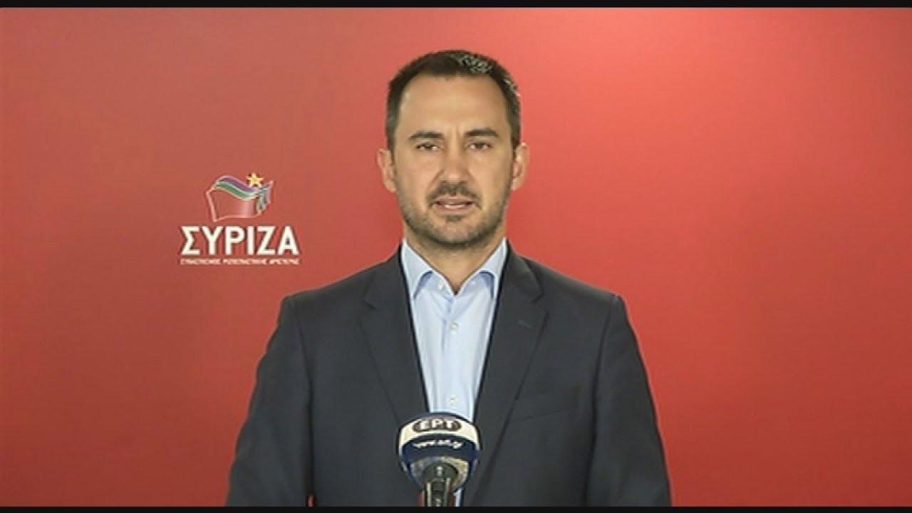 Α. Χαρίτσης: «Ας αναλογιστεί ο Κ. Μητσοτάκης την ευθύνη των επιλογών του» στο θέμα της ΕΥΠ