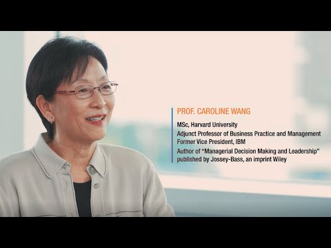 How to engage with opportunities in this volatile world? Prof. Caroline Wang, HKUST MBA