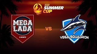 Mega-Lada E-Sports против Vega Squadron, Вторая карта, BTS Summer Cup