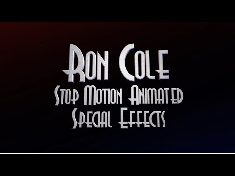 Stop Motion Animation Special Effects Reel
