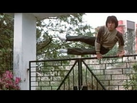 Jackie Chan Jumping Over Fences