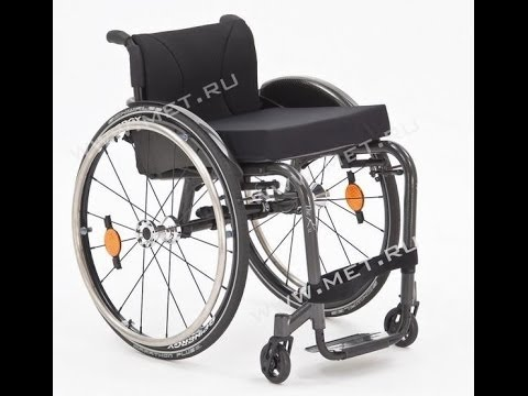 Kресло-коляска активного типа Kuschall KSL - максимальная маневренность
