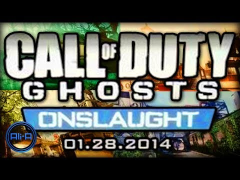 call of duty ghosts onslaught for playstation