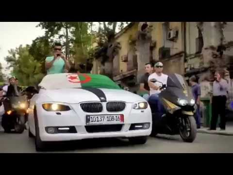 اغنية المنتخب الوطني الجزائري  جميلة جدا لكاس العالم 2014