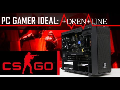 Confira o PC GAMER IDEAL « ADRENALINE » no CS:GO | Pichau