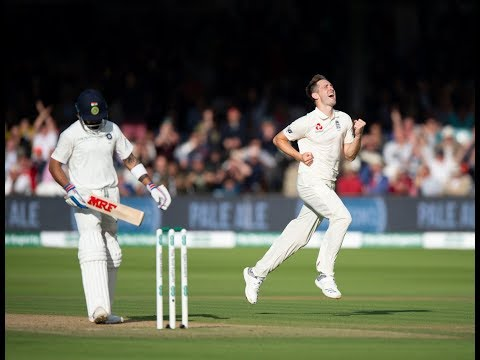 VIRAT KOHLI WICKET..! ENGLAND VS INDIA 2ND TEST LORDS CRICKET GROUND.