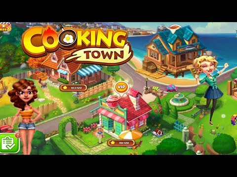 FINALLY NEW RESTAURANT!!!/ Cooking Town- Fisherman's Hut/ Levels 1 To 31