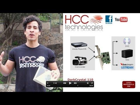 Captura y Streaming de Video SDI HD - DarkCrystal CD 110 - AVerMedia - HCC Technologies