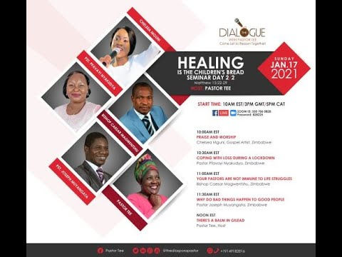 The Dialogue with Pastor Tee: Season 4: Episode 2 - Healing Seminar Day 2
