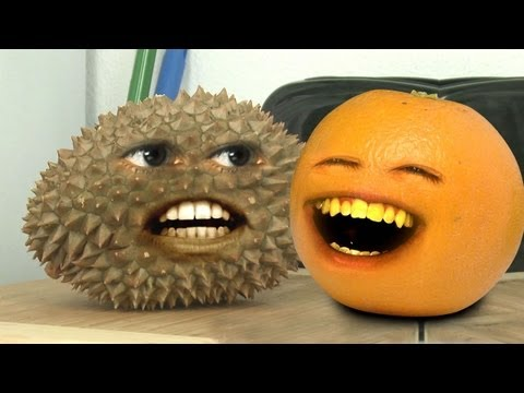 enough - Orange meets the toughest fruit. EVER. Watch the Sneak Peek of the Annoying Orange TV show on Cartoon Network, Monday at 8:30/7:30c!!! MERCH: http://bit.ly/18PhFlH T-SHIRTS! http://bit.ly/AOMerch...