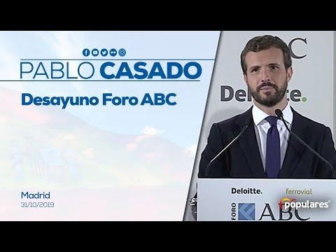 Casado presenta un plan España que recupere la concordia en Cataluña