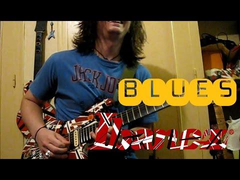 Slow blues G 6x8 - Impro by Simon borro