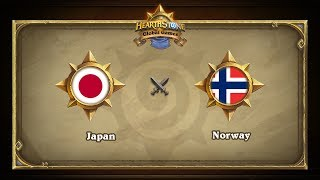 JPN vs NOR, game 1