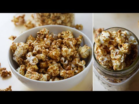 Salted Caramel Corn (VEGAN + Refined Free)