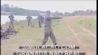 Szeregowy Kowalski i szkolenie z rzutu granatem! Czyli co może pójść nie tak :D