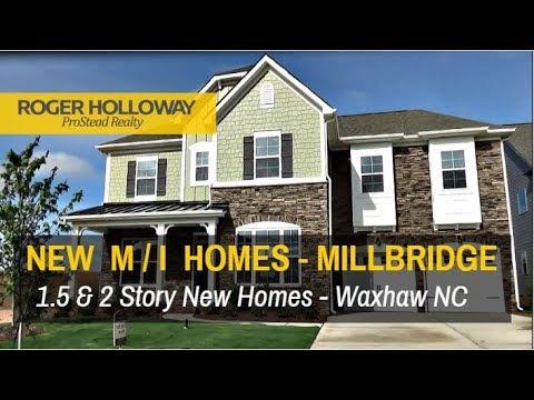 The Reasons Why I Love MI Homes In Millbridge, Waxhaw NC