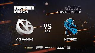 Newbee vs Vici Gaming, EPICENTER Major 2019 CN Closed Quals , bo3, game 2 [Jam & Inmate]